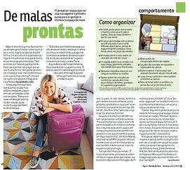 Lala Organizer na Revista da Hora