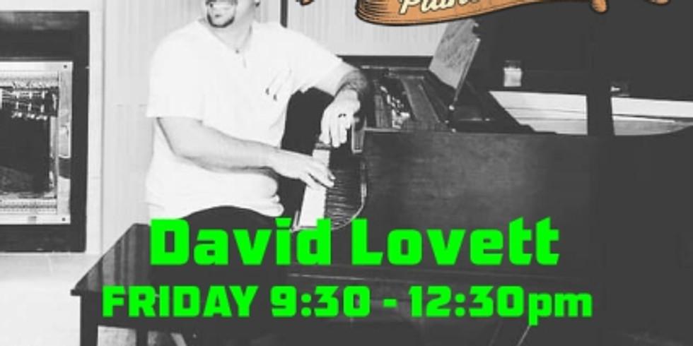 LIVE PIANO SHOW w/ David Lovett
