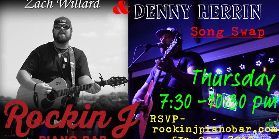 Denny Herrin & Zach Willard Song Swap Show