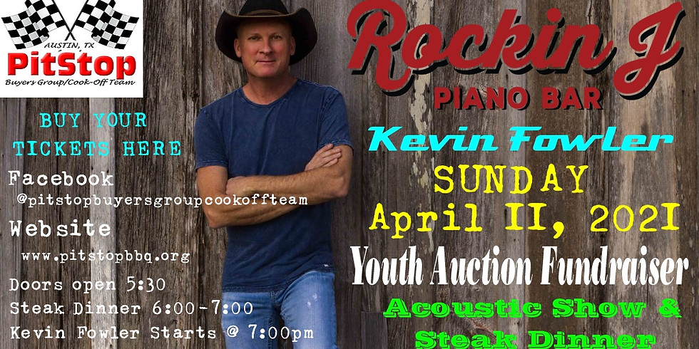 Kevin Fowler Fundraiser Show
