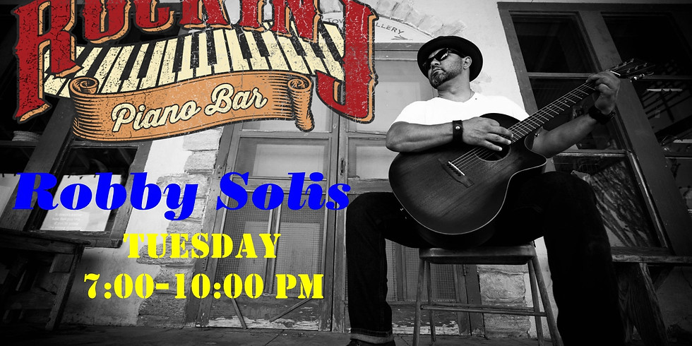 ACOUSTIC SHOW w/ Robby Solis