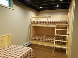 Bedroom 3 in Finished Basement