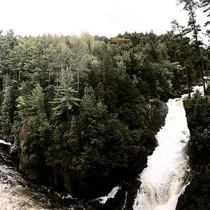 Rowdon waterfall