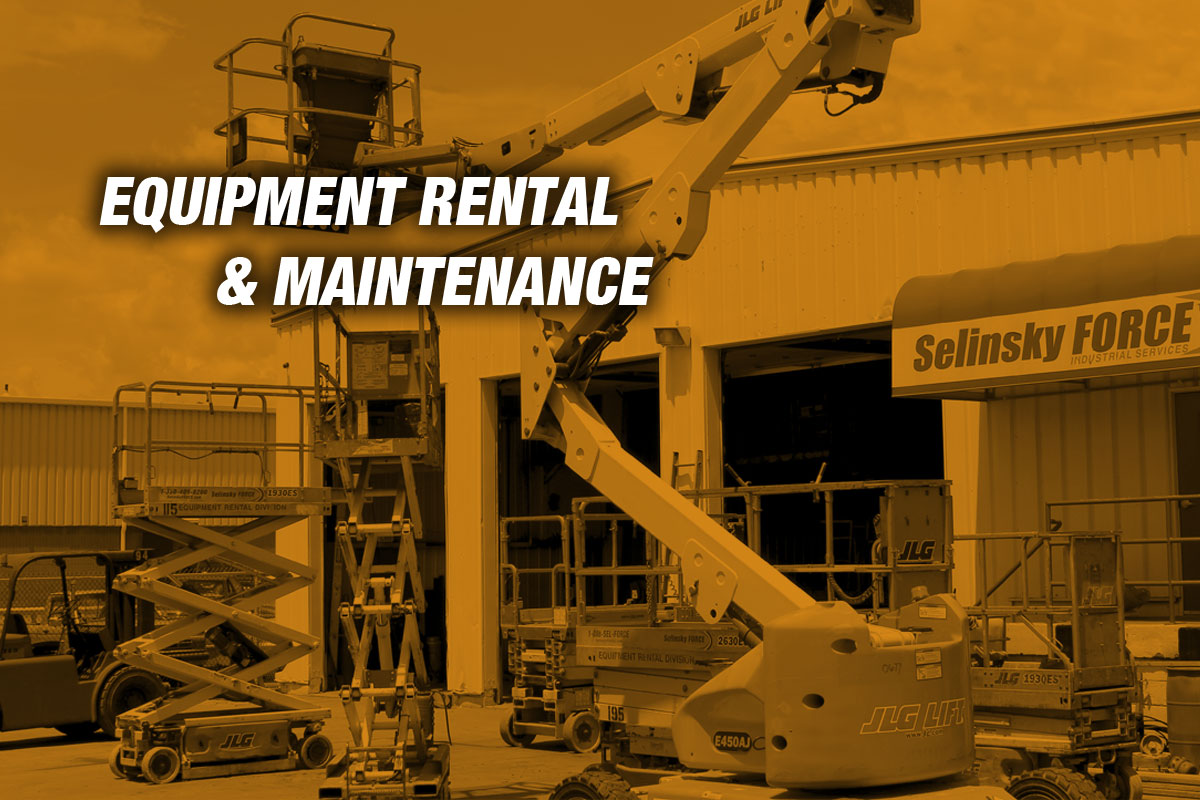 Equipment Rental & Maintenance