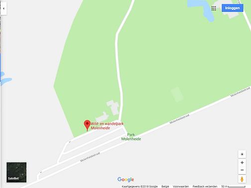 liggingsplan Wild-en Wandelpark Molenheide