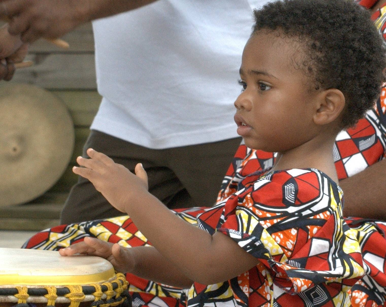 TinyTots African Creative Dance(Ages3-4)