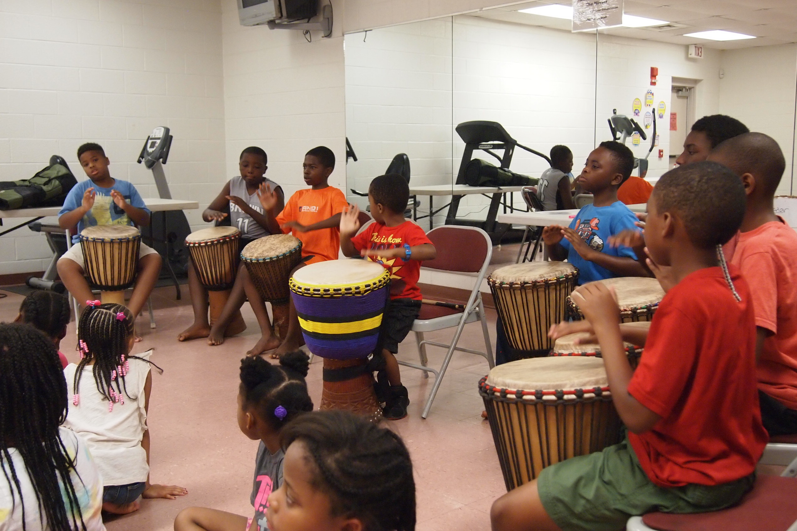 Level #1 Youth African Drum