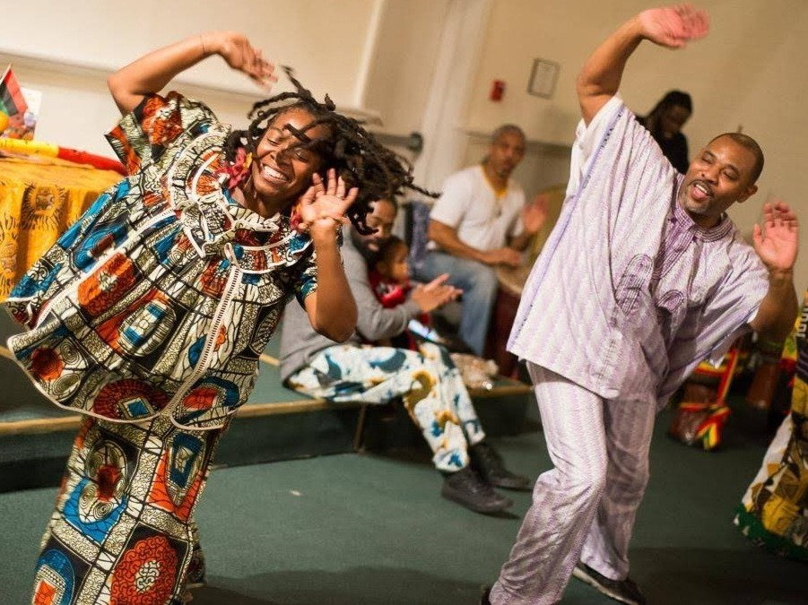 Adult West African Dance Class w/ Wesley