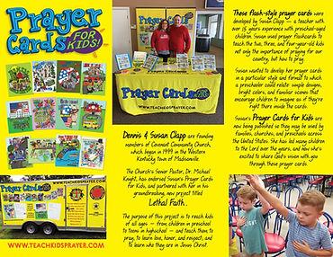 Prayer Cards for Kids Trifiold Brochure