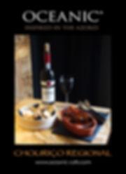 Oceanic Horta organic wine and regional sausage