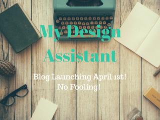 Blog Launching April 1st! Don't miss a post!