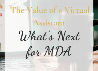 The Value of a Virtual Assistant. What's Next for My Design Assistant...