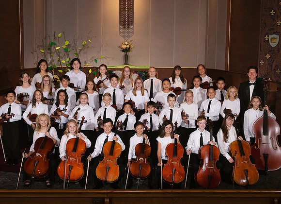 Strings Entrance Fee (Multiple Child 20% Discount)  2020-2021