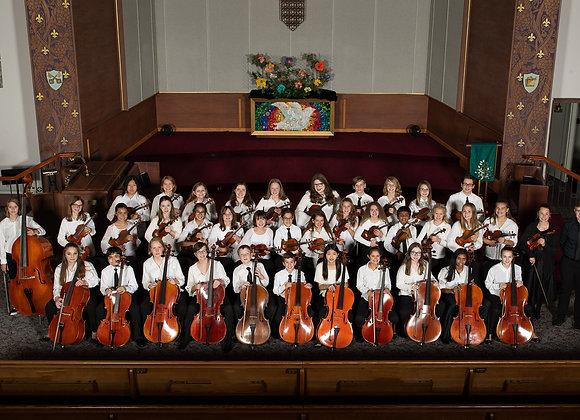 Sinfonietta Entrance Fee 2020-21