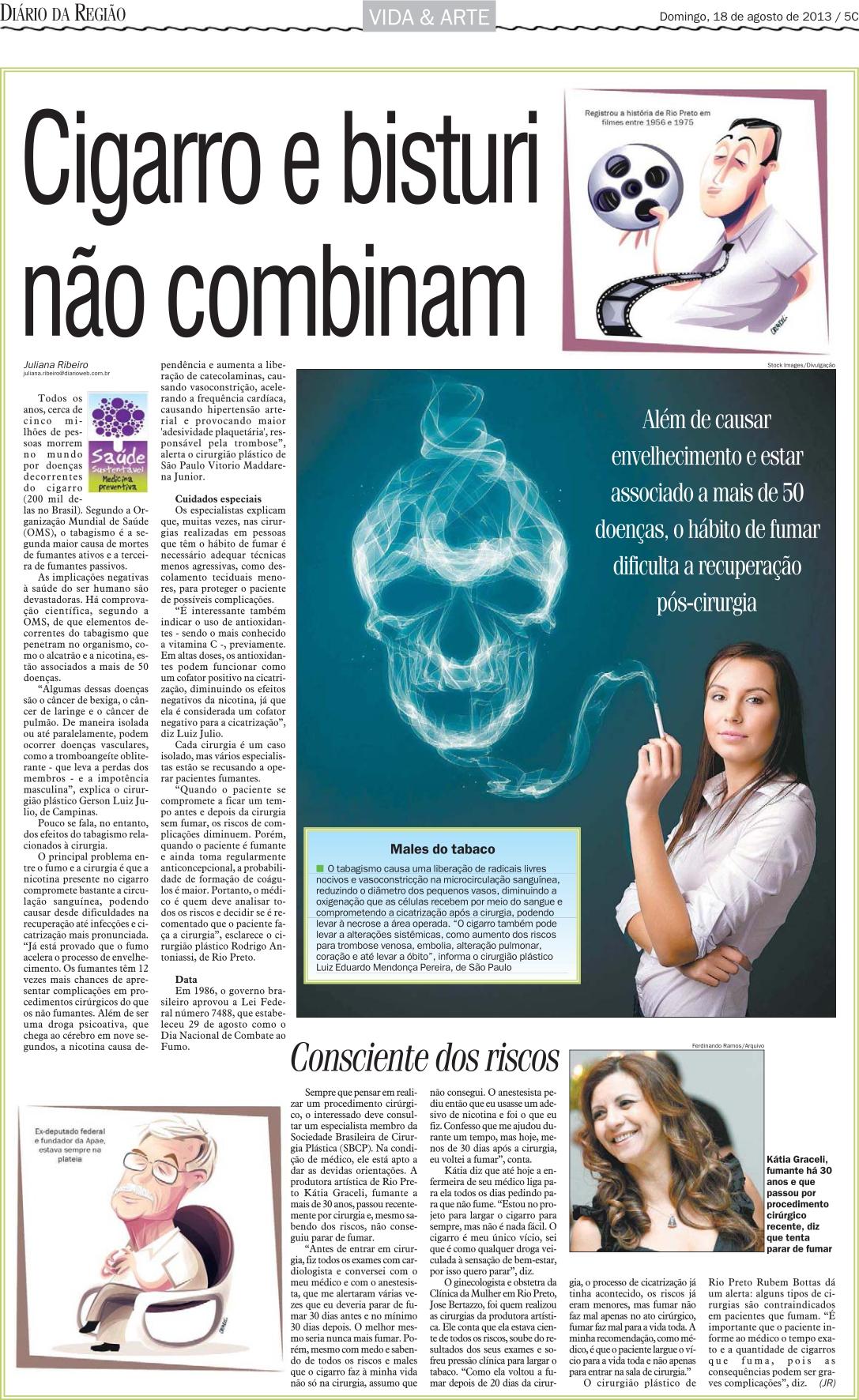 Diário da Região - Agosto 2013