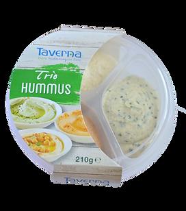 Hummus Trio - Oriental, Tomato, Lemon & Coriander