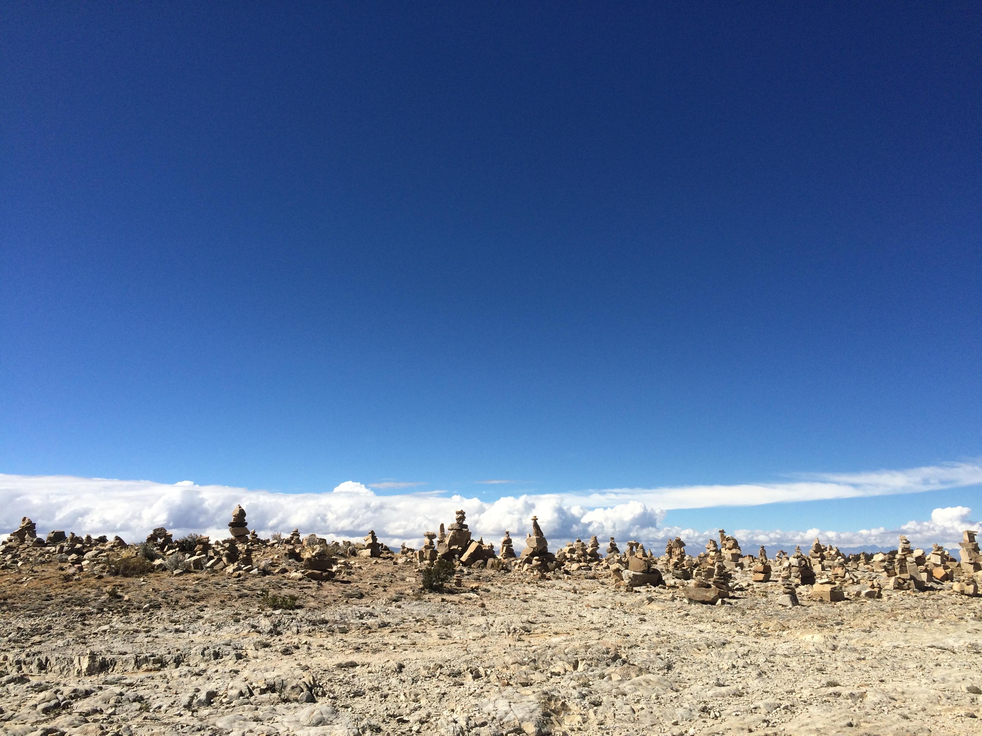 Apachetas, rituales