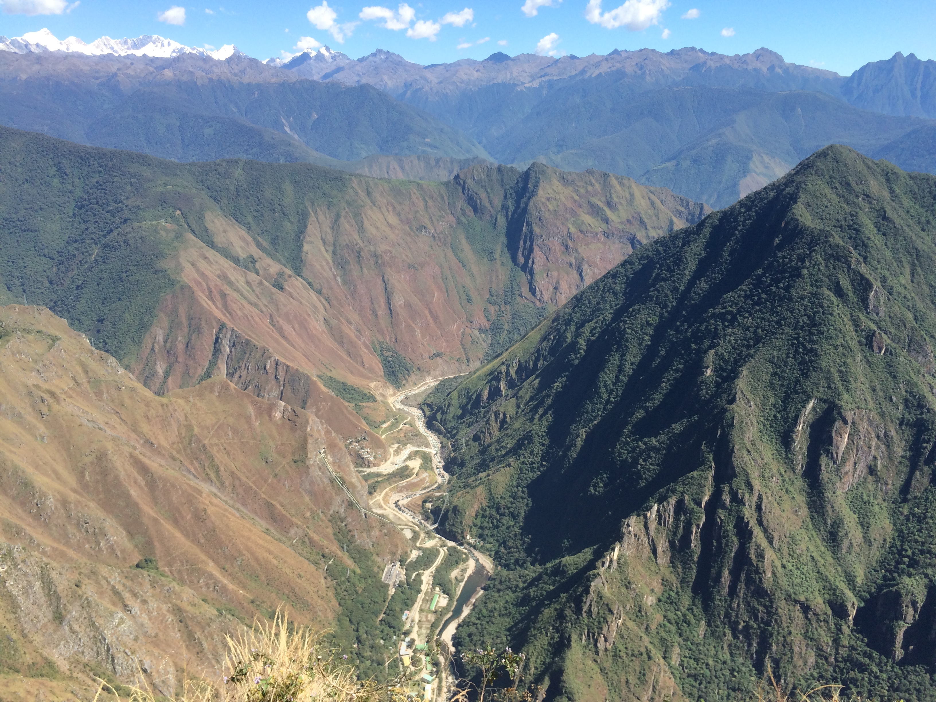La vista desde la montaña