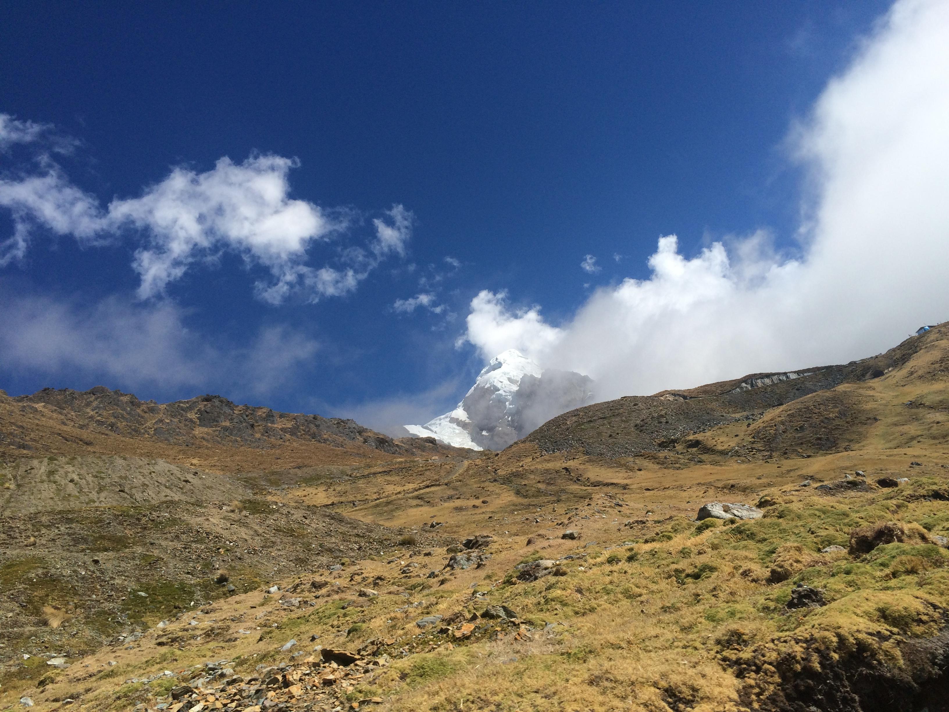 La ruta hacia Machu Picchu
