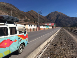 Camino a Cusco