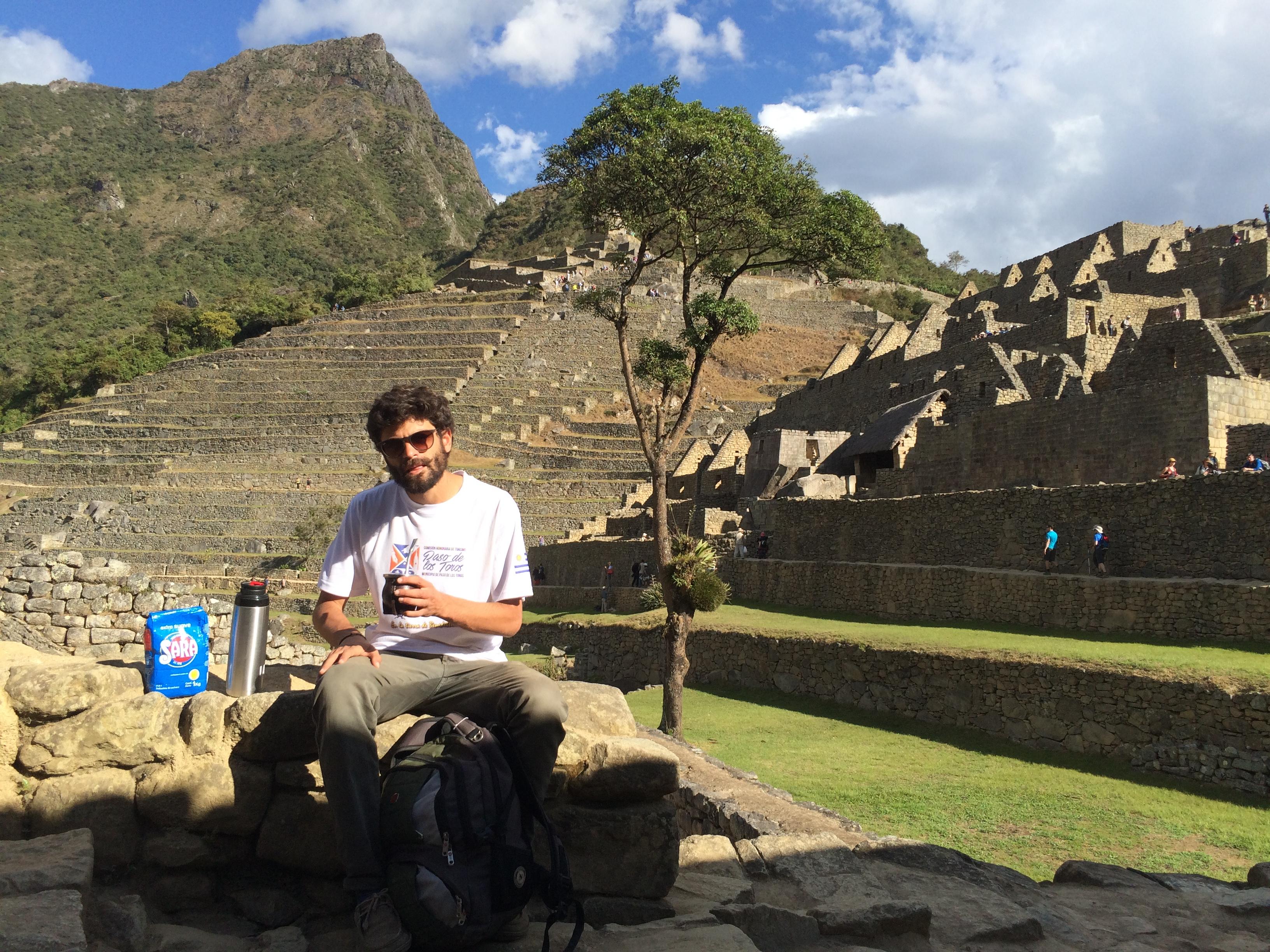 Con Sara por el Machu Picchu
