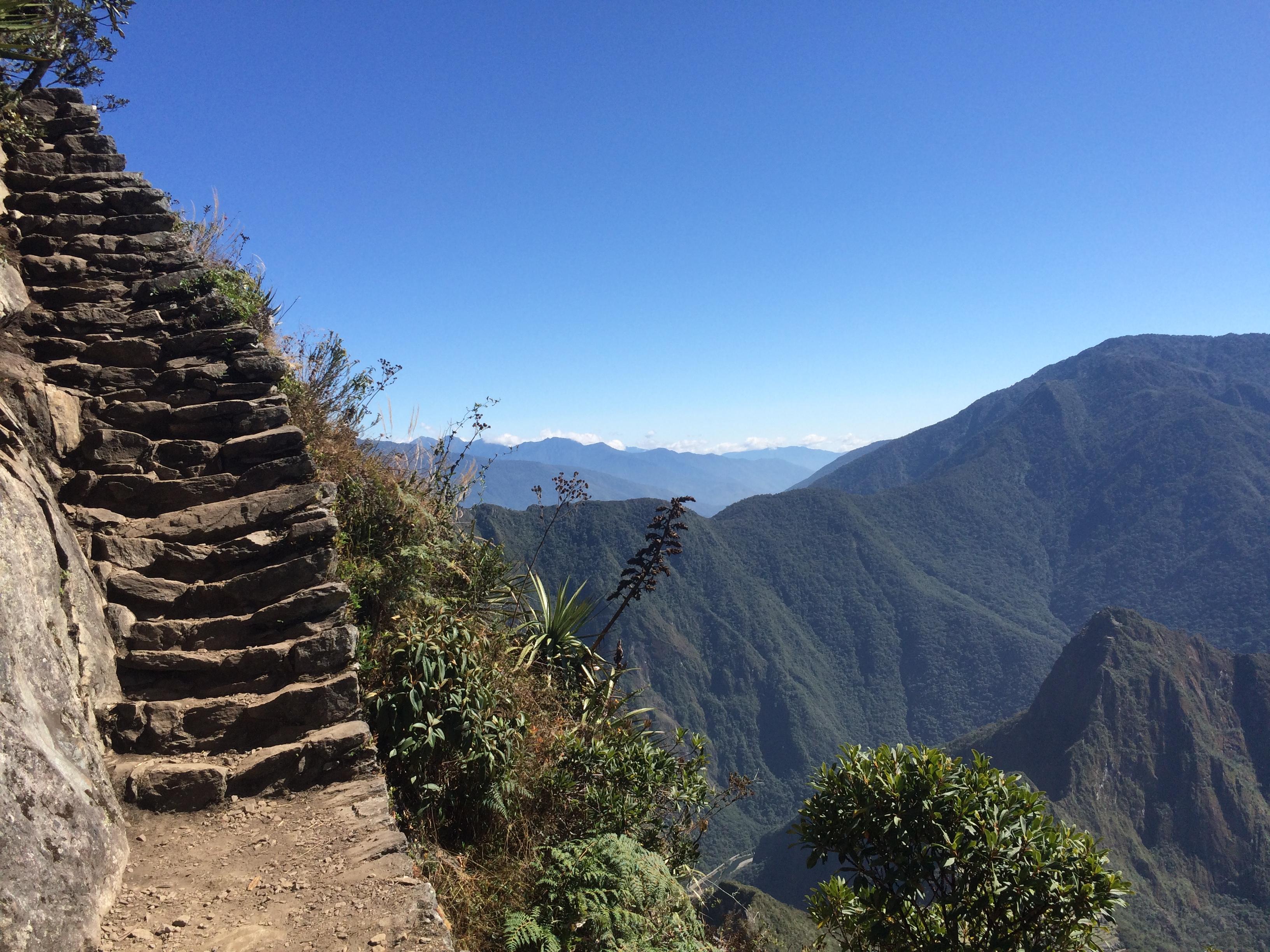 Subiendo a la montaña