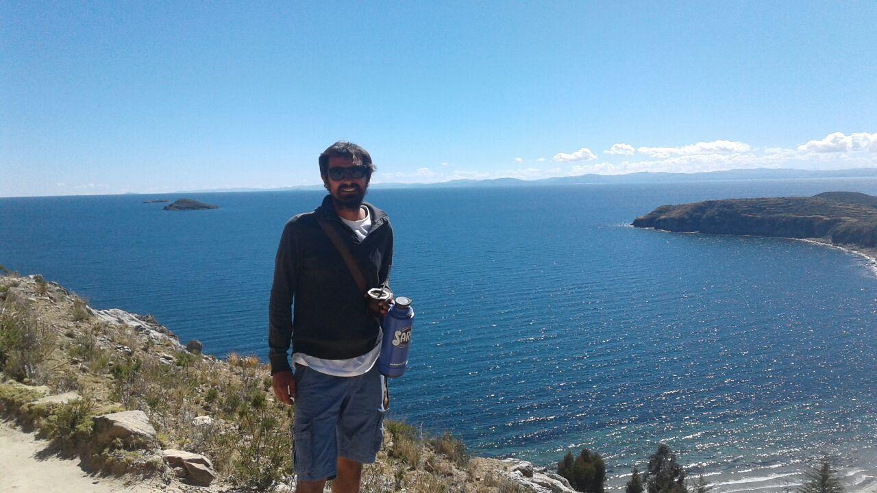 Fernando. En la Isla del Sol