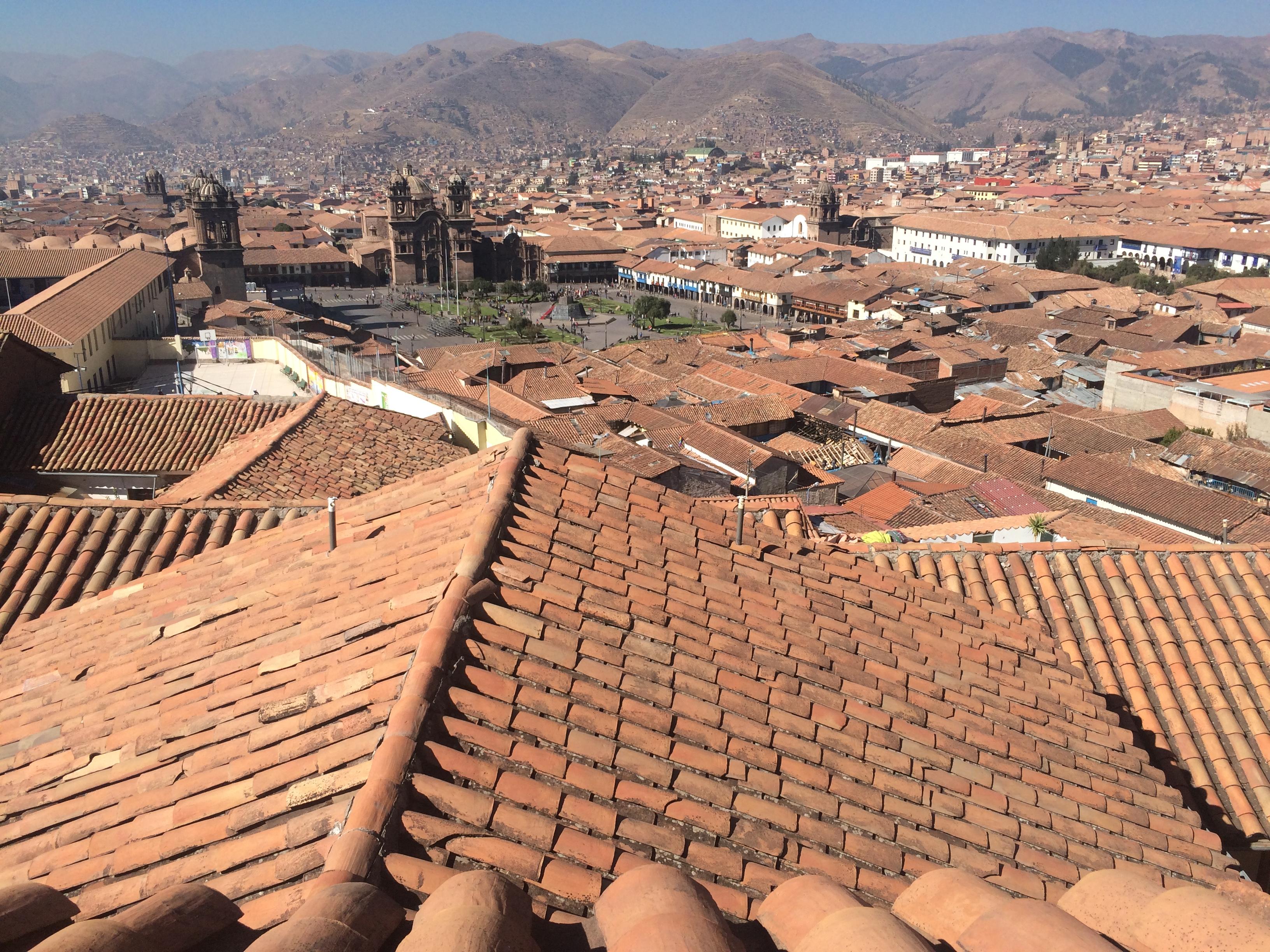 Cusco desde arriba