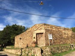 Tradicional casa de piedra