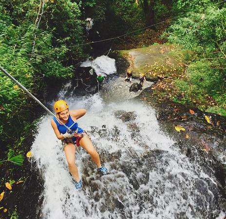 Водопады Коста-Рики