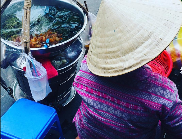 Уличная еда, Хошими, Вьетнам