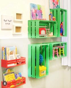 Detalhes quarto infantil