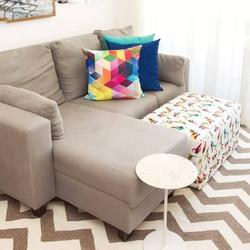 Apartamento sala de estar/tv