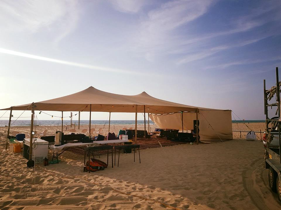 חוף ניצנים מתחם לתלמידי חברותא