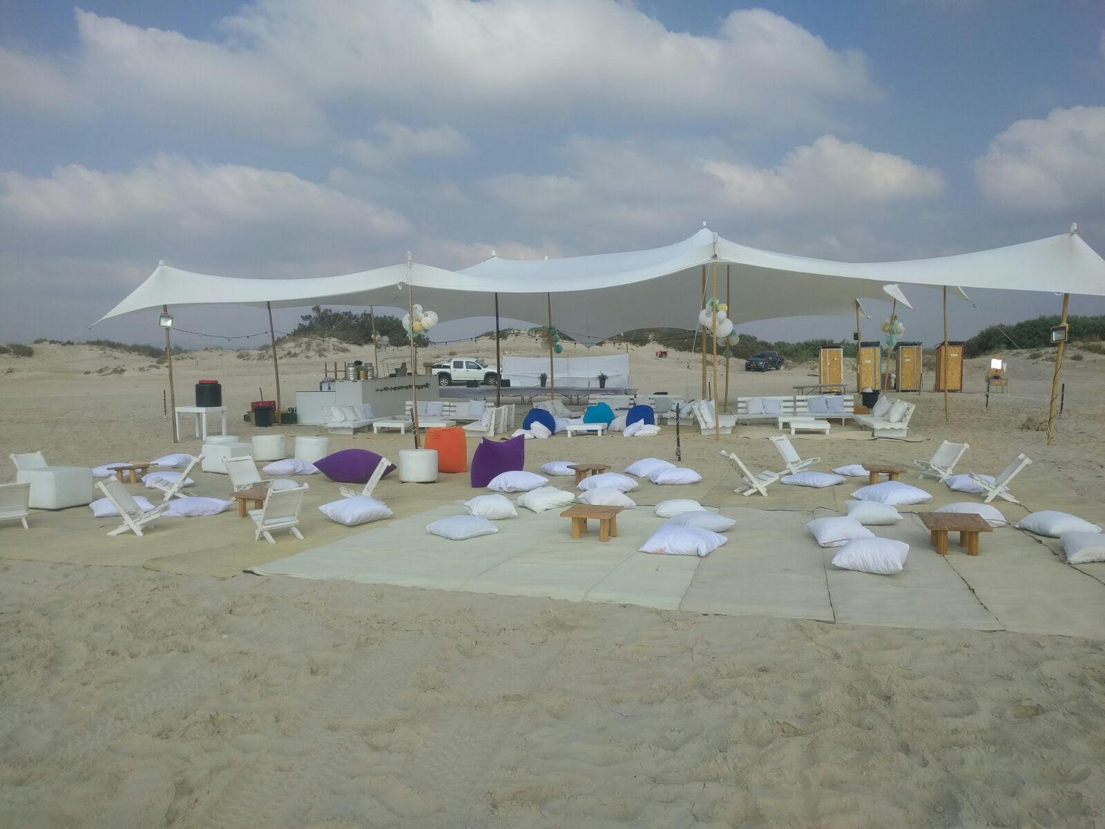 מסיבת חתונה חוף נווה ים