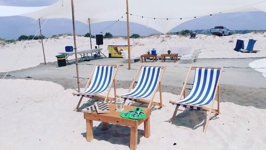 מסיבת רווקים על החוף