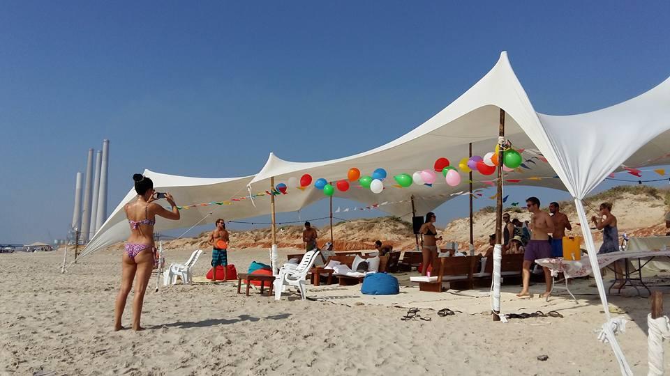 חוף ארובות חדרה