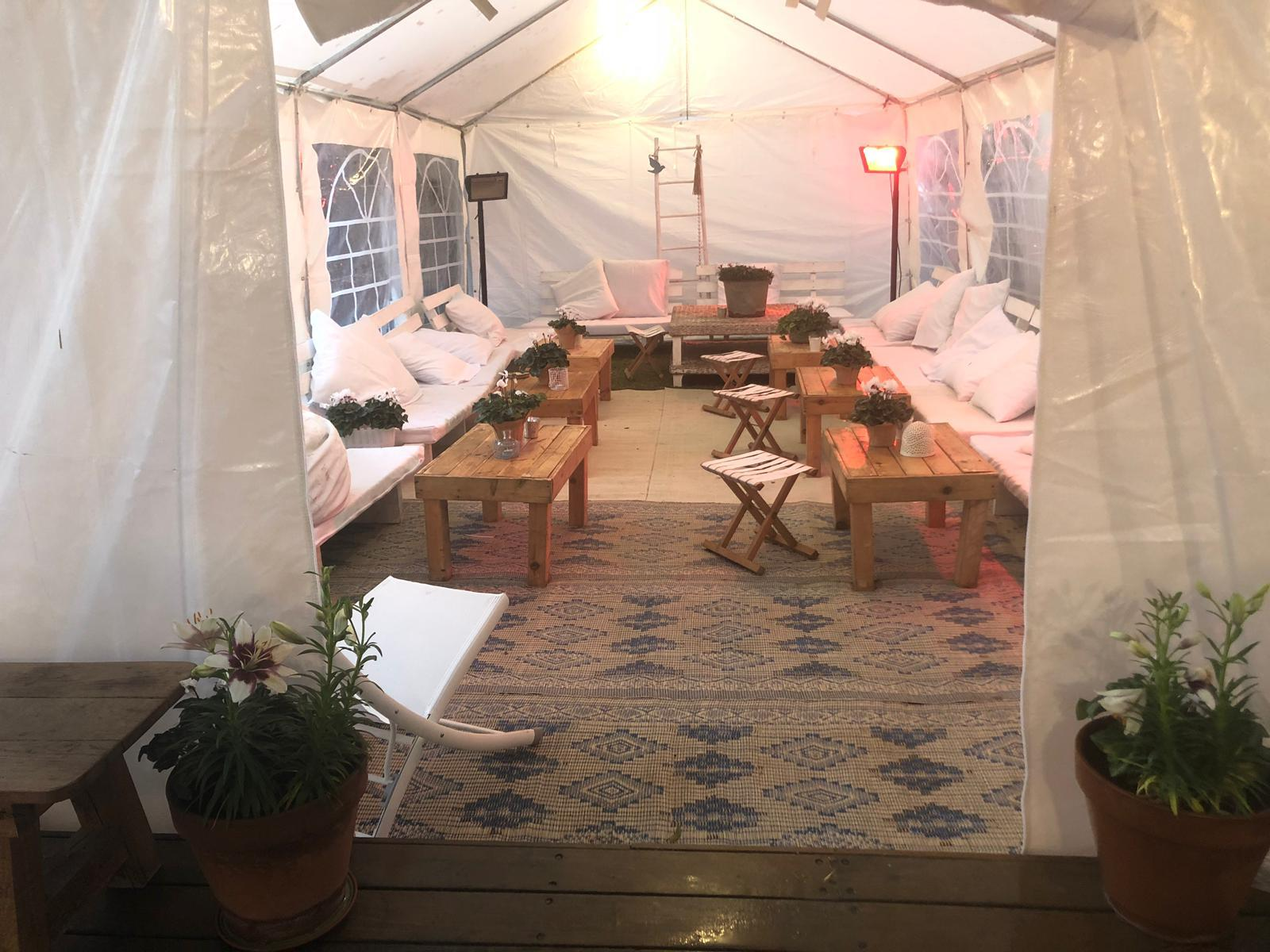 אירוח אלטרנטיבי באוהל חורף