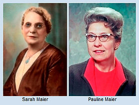 Maier Foundation Sarah and Pauline Maier