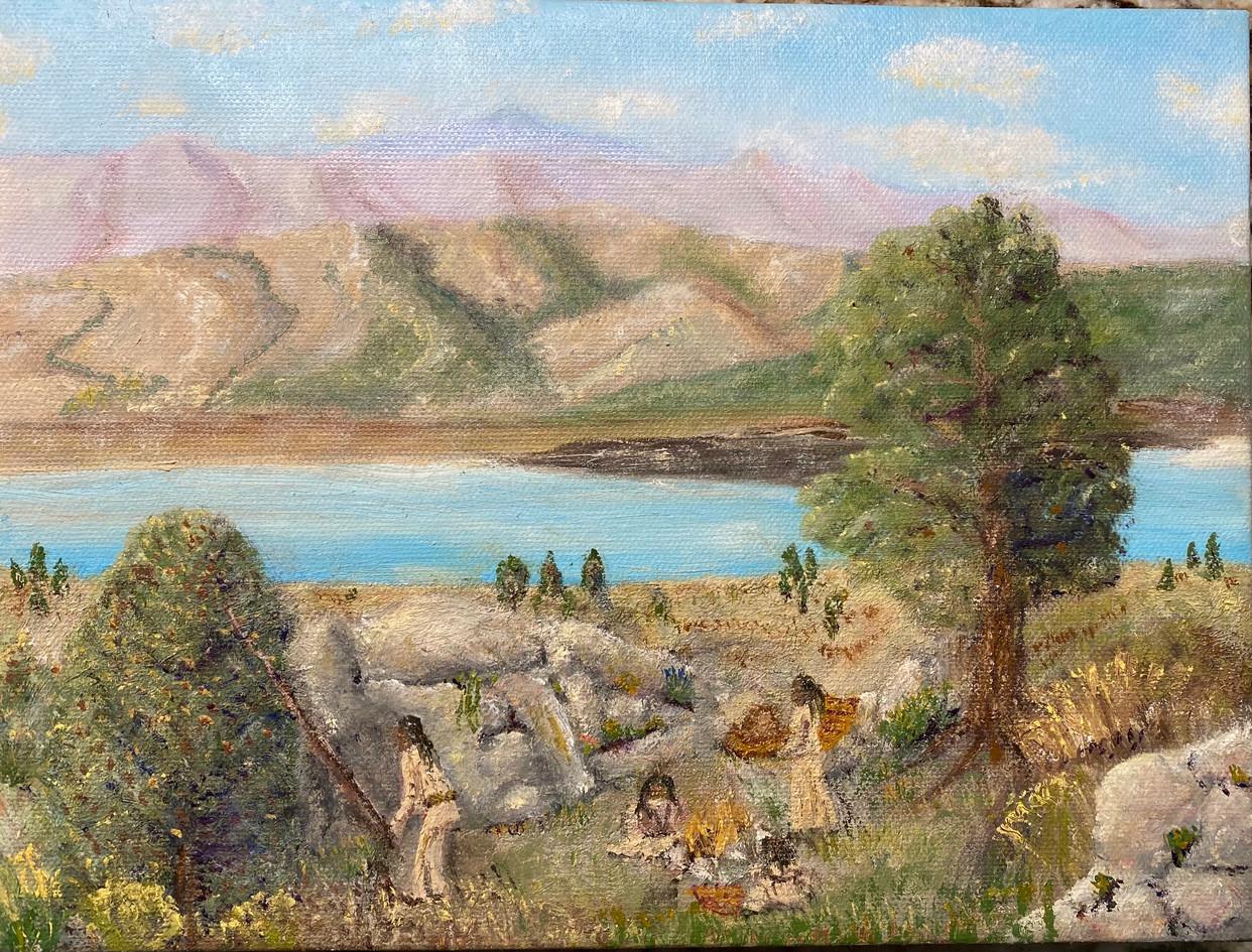 Mono Pine Nut Harvest, Geoff Buckner, Ro