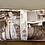 Thumbnail: Pillow: Vintage Dress Form + Treadle Collage