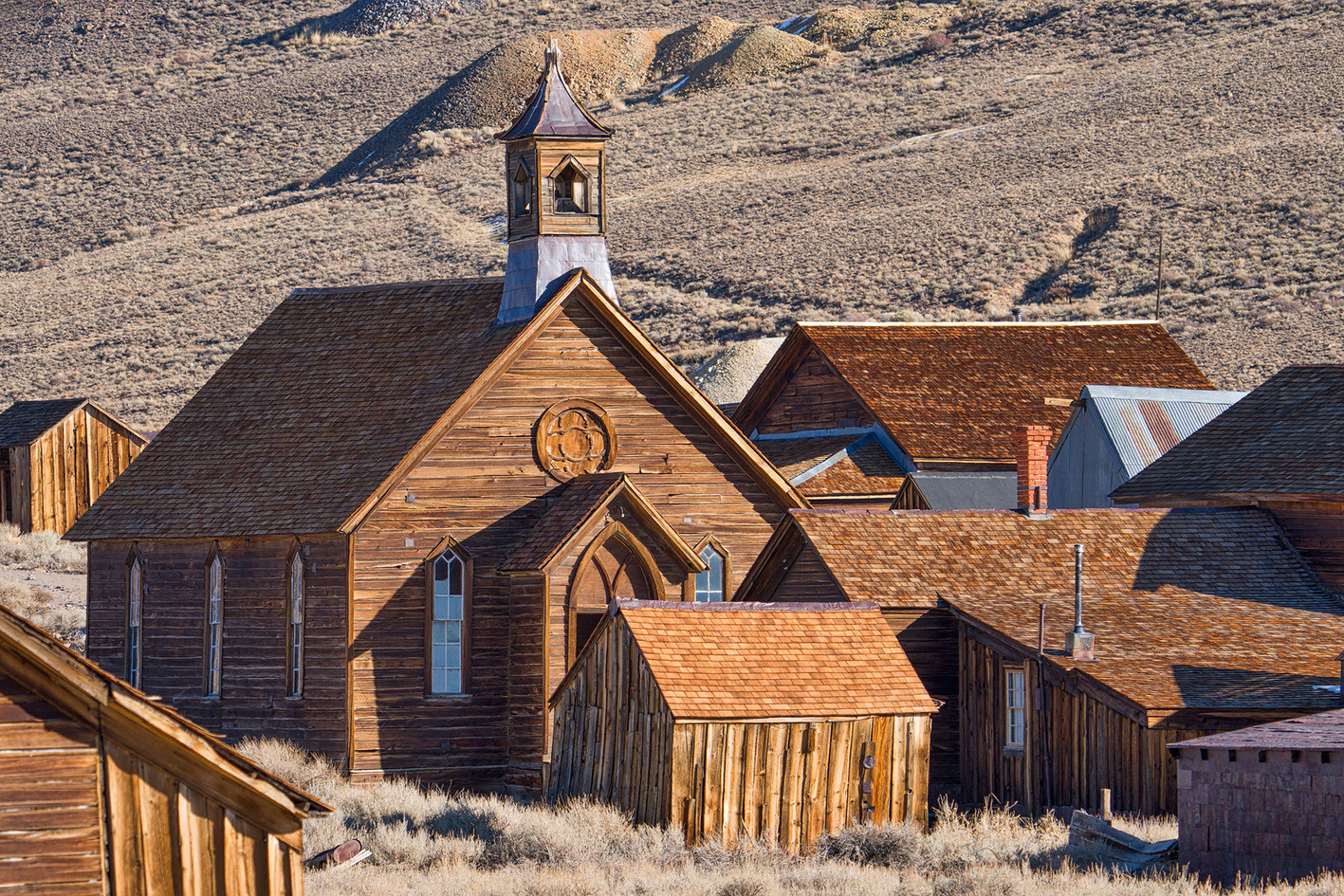 Church At Bodie, Rick Kattelmann, Rooted