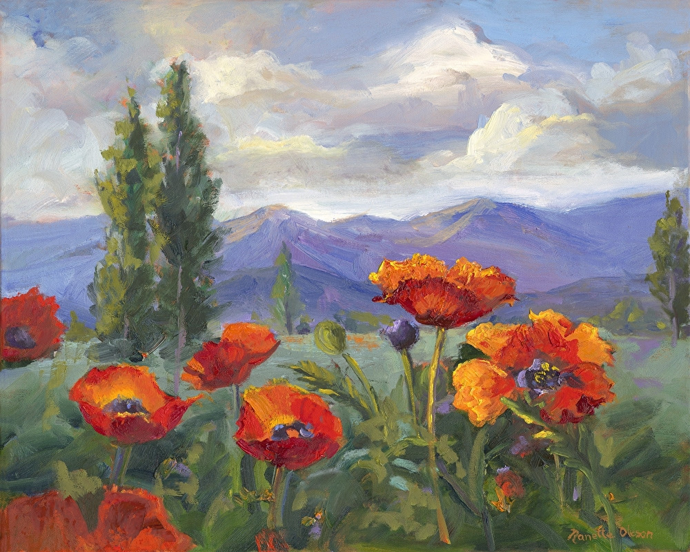 Nanette Oleson - Pleasant Valley Poppies