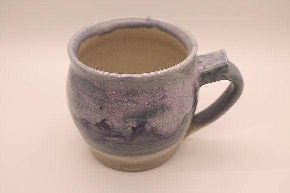 Ceramic Mug: Blue + Purple Mountains, Medium