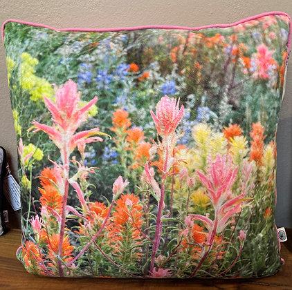 Pillow: Buttermilk Wildflowers