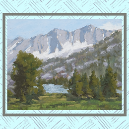 Plein Air: Twin Lakes Pastels, with Randall Smith