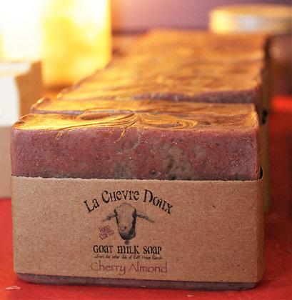 Cherry Almond, Goat Milk Soap