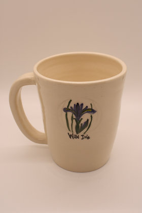 Wildflower Mug: Wild Iris