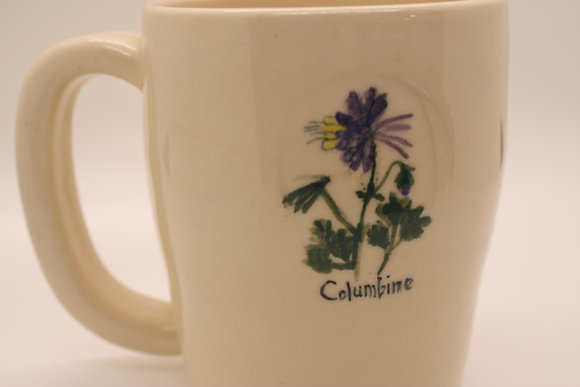 Wildflower Mug: Columbine