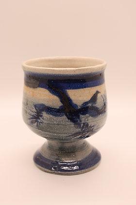 Ceramic Tumbler: Bluebird